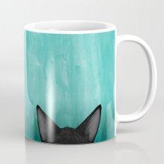 Black Kitty Ears Mug