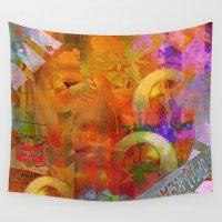 weird Wall Tapestries featuring Weird by Joe Ganech