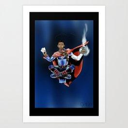 Chris Paul the deceiver Art Print