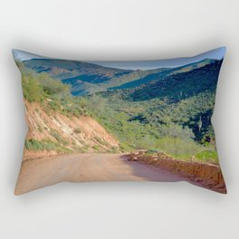 Bartlett Lake Backroads - Arizona Rectangular Pillow