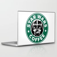 starwars Laptop & iPad Skins featuring StarWars Coffee by Unicity