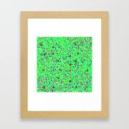 Colorful Rain 10 Framed Art Print
