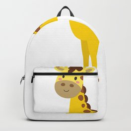 Cute Animal Cartoons Cute Giraffe Cartoon Backpack