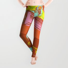ROBOT WINNER Leggings