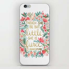 Little & Fierce iPhone Skin