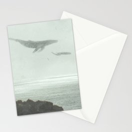 Flying Whales Stationery Cards