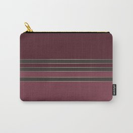 Burgundy combo pattern dark maroon Carry-All Pouch