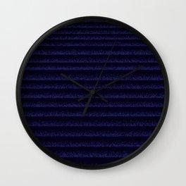 Deep Waves Wall Clock