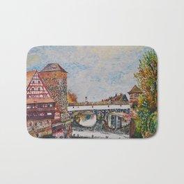 Nuremberg, Germany Bath Mat