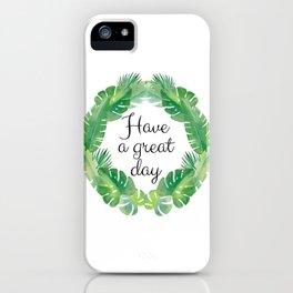 The Ohana Garden series VIII.  iPhone Case
