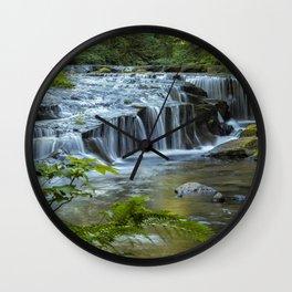 Ledge Falls, No. 4 Wall Clock
