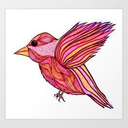 Chickadeedeedee Art Print
