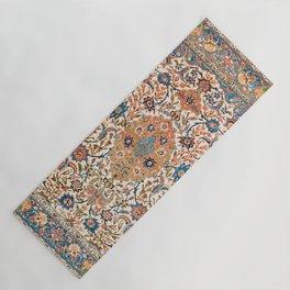 Isfahan Antique Central Persian Carpet Print Yoga Mat