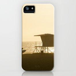 Huntington Beach Surfer iPhone Case