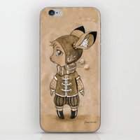mouse iPhone & iPod Skins featuring Mouse by Freeminds