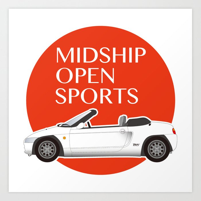 Midship Open Sports Art Print