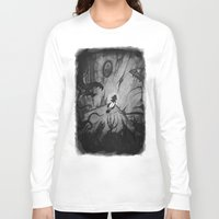 monsters Long Sleeve T-shirts featuring Monsters by Michael Brack