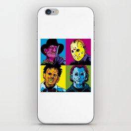 Horror Gang iPhone Skin