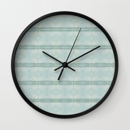 Luis Barragan Las Torres 3 Wall Clock