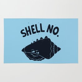 (S)HELL NO. Rug