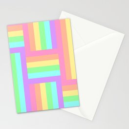 Woven Rainbow 2 Stationery Cards
