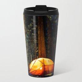 Camping At Night Travel Mug