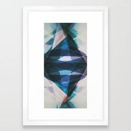 Sealed Crystals Framed Art Print