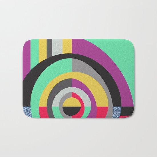 Geometric#19 Bath Mat