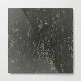 Whistler's Curtains Metal Print