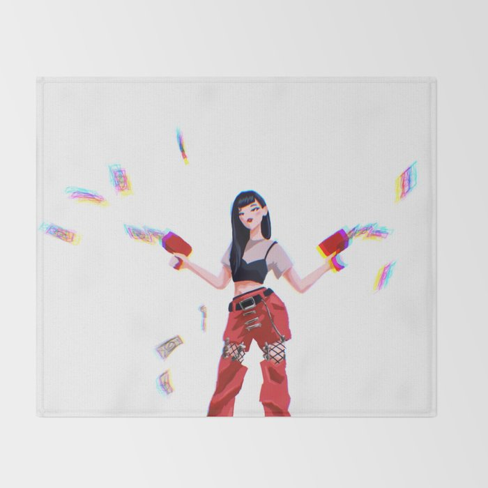 Red Velvet Seulgi Throw Blanket By Ohdeerkamilla Society6