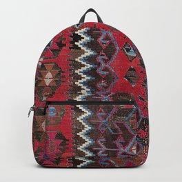 Obruk Konya Turkish  Antique Kilim Rug Print Backpack
