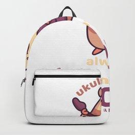 Ukuleles Bring Me Always Joy Backpack