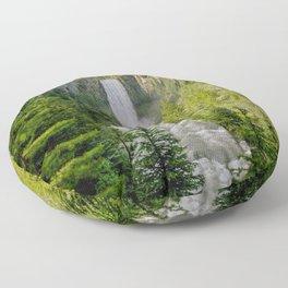 Tumalo Falls Bend Oregon Floor Pillow