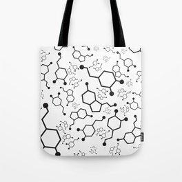 Serotonin and Dopamine Tote Bag