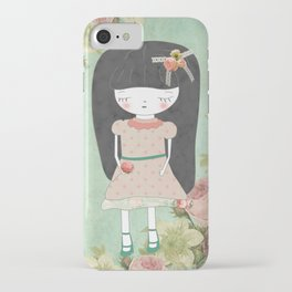 Sad girl iPhone Case
