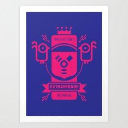 Firing on All Cylinders Art Print