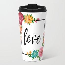 Floral Love II. Travel Mug