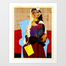 Picasso Women 6 Art Print