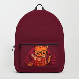 Feed Me And Tell Me I'm Smart Backpack