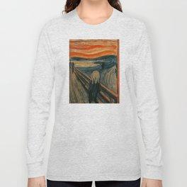 The Scream - Edvard Munch Long Sleeve T-shirt