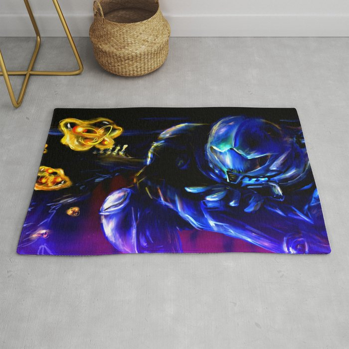 Metroid Metal: Sector 1 Rug