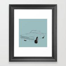 1966 Ford Thunderbird Framed Art Print