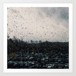 Rainy Grey Art Print