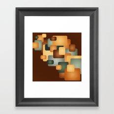 A Retro Feeling.  Framed Art Print