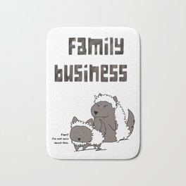 Family Business Bath Mat