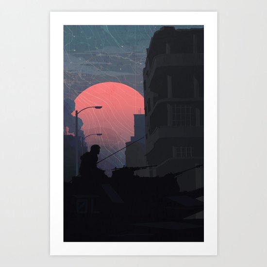 Fog of War Art Print