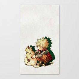 Bakugo Canvas Print