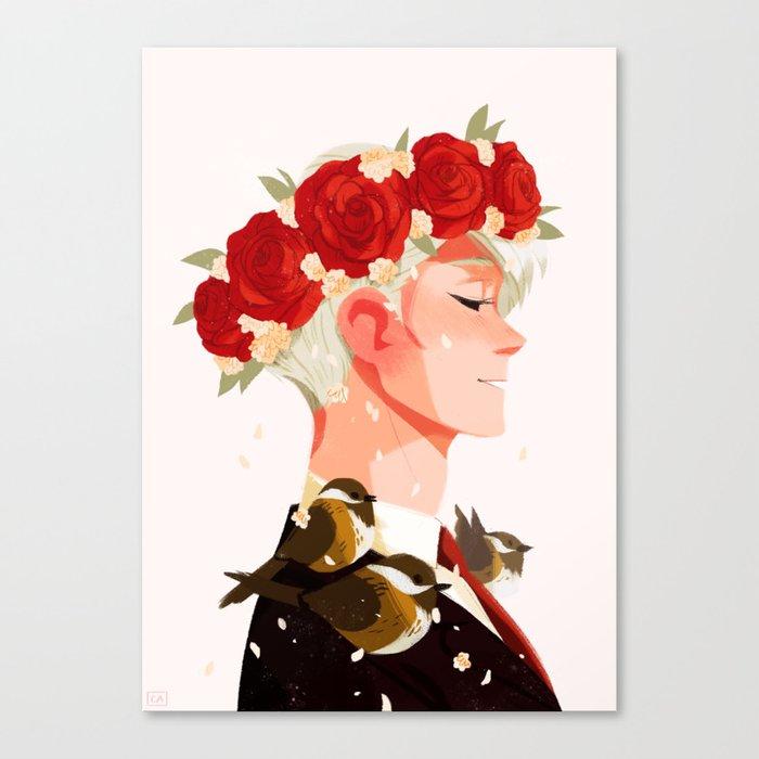 Bloom: Viktor Canvas Print