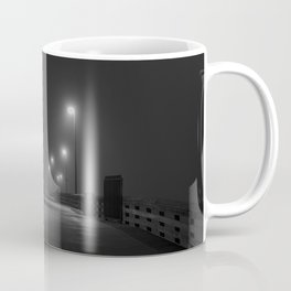 Newport Pier in Fog Coffee Mug