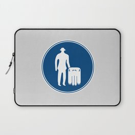 Monsters Only Laptop Sleeve